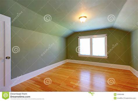 attic green room   ceiling royalty  stock