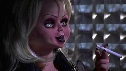 Chucky Bride Tilly Jennifer Smoking Face Makeup