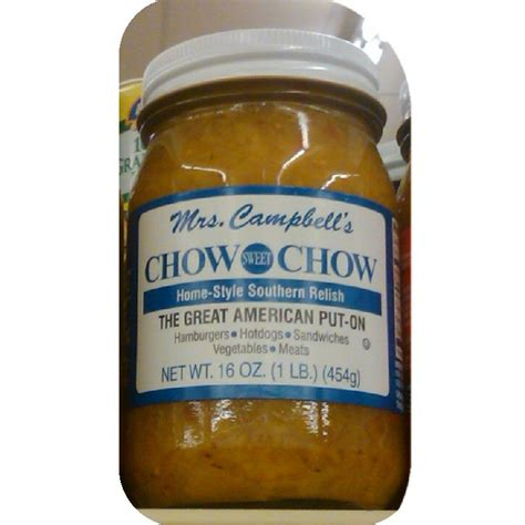 chow chow relish mrs cbell s chow chow onion pickle relish hot dog buy nc