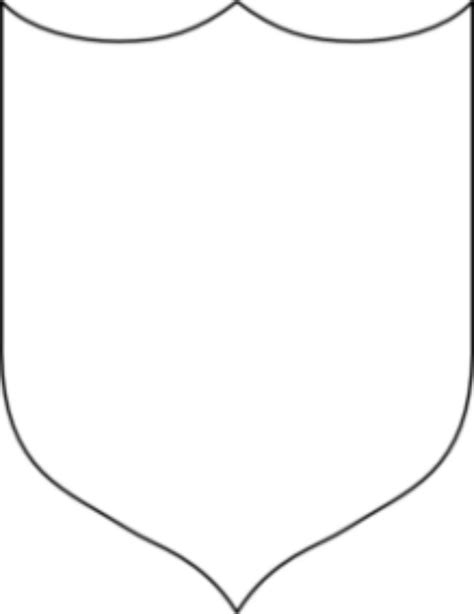 cool shield template clipart panda  clipart images