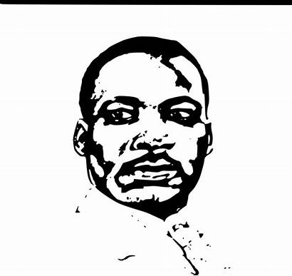 Luther Martin Mlk King Jr Clipart Happy