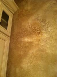 faux painting techniques 81 best Paint & Tissue Paper wall ideas images on ...