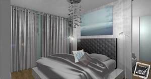deco chambre parentale blanche With idee deco chambre parents