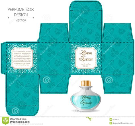 Perfume Box Design Stock Vector Image Of Cosmetic, Gift
