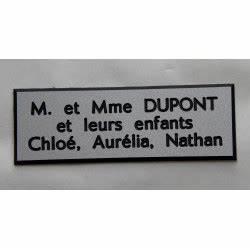 Etiquette Boite Au Lettre : plaque etiquette boite aux lettres ~ Farleysfitness.com Idées de Décoration