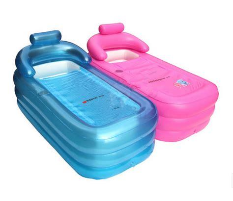 adult leisurely spa inflatable bath tub pink free