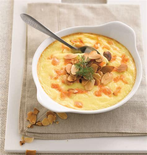 cuisine bretonne crème brûlée de pommes de terre au saumon fumé les