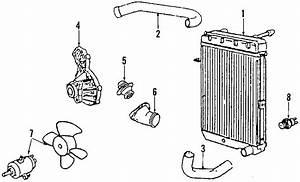 Volkswagen Passat Hose   Upper   Passat  2 8l  Manual