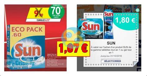 bon plan sun tablettes lave vaisselle 224 1 07 chez intermarch 233