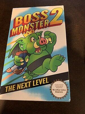 Construct your lair, lure in hapless adventurers, kill them and collect their souls! BOSS MONSTER 2 The Next Level LIMITED EDITION FOIL Card Game Brotherwise Games   eBay