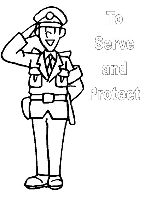 11589 policeman clipart black and white free image of officer free clip free