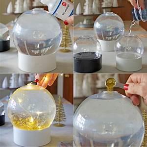 Fabriquer Boule à Neige Glycérine : fabriquer votre propre boule neige lumineuse ~ Zukunftsfamilie.com Idées de Décoration