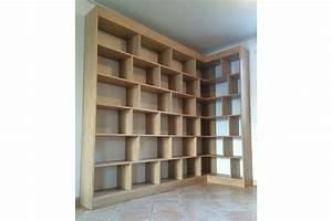 Bibliothèque Design Bois : biblioth que en bois design gt56 jornalagora ~ Teatrodelosmanantiales.com Idées de Décoration