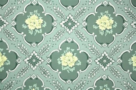 floral vintage wallpaper hannahs treasures