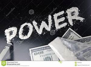 Power addiction stock photo. Image of american, dollars ...
