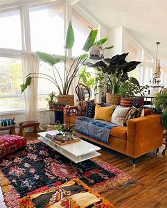 Eclectic, Living, Room, Design, Ideas, Boho, Chic