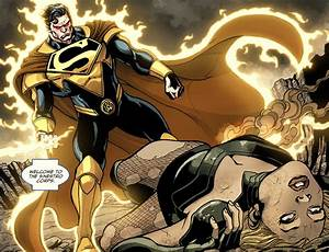 Superman With A Sinestro Corps Ring Comicnewbies