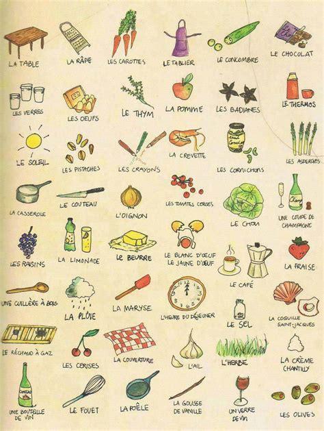 vocabulaire de cuisine 25 best ideas about ustensiles de cuisine sur