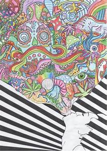 Trippy Weed And Shroom Drawings | www.pixshark.com ...
