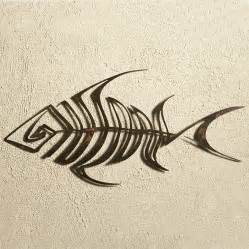 decorative kitchen islands elizabeth keith bone fish metal wall fishbone