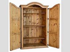 Rustic Wardrobe Armoire, Wardrobe Armoire, Pine Wood