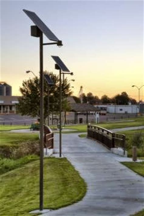 sol inc installs commercial solar outdoor lighting at