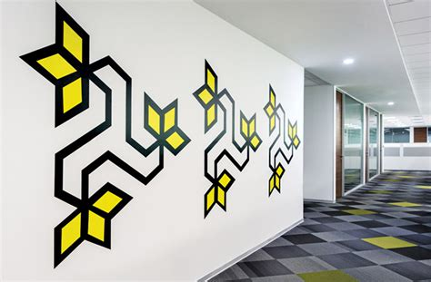 wall graphics   office  inspired
