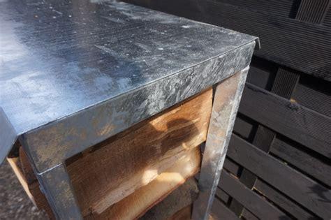 dach und mehr dach f 252 r kaminholzregal angula zink