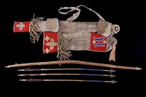 Kiowa Bow & Arrow with Quiver c. 19th Century