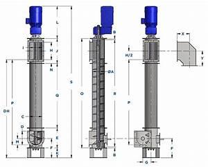Vertical Screw Conveyor Dimensional Standards Guide