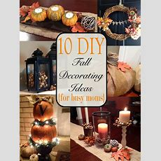 Two It Yourself Fall Home Tour 10 Diy Fall Decorating