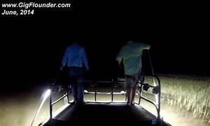 Flounder boat lights underwater w led for