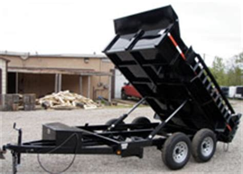 Car Dump Near Me by Used Dump Trailers For Sale Dumping Bed Trailers