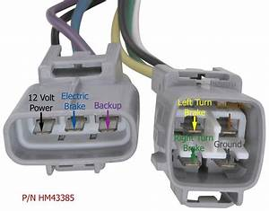 Plug And Play Four Way Wiring Harness For 2003 Lexus Gx