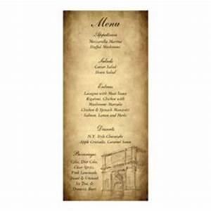 1000 images about program ideas on pinterest rome With roman menu template