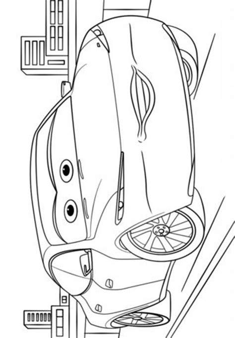 Kleurplaat Cars 3 by Cars 3 Kleurplaat
