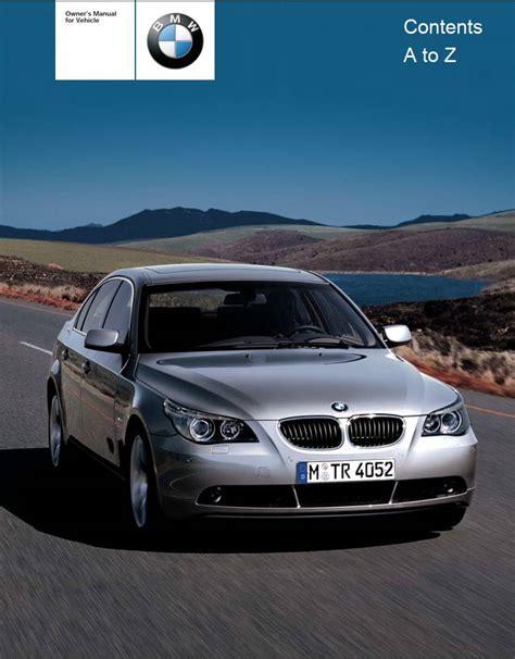 motor auto repair manual 2001 bmw 525 user handbook bmw 525i sedan 2004 owner s manual pdf online download