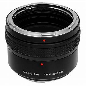 Fotodiox Pro Lens Mount Adapter For Rolleiflex Sl66