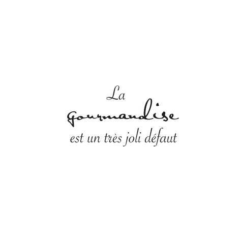 sticker texte cuisine gourmandise joli defaut