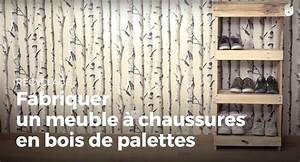 Faire Des Meubles Avec Des Palettes : fabriquer un meuble chaussures en bois de palettes fabriquer des meubles avec des palettes ~ Preciouscoupons.com Idées de Décoration