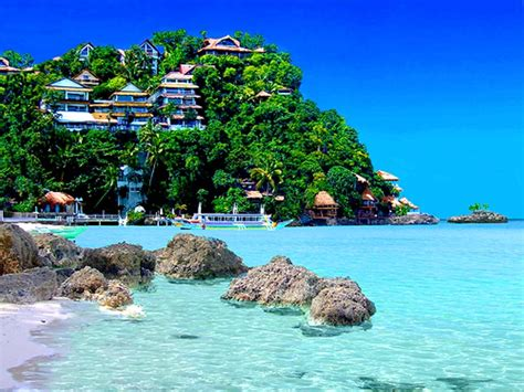 The Beautiful Island Of Boracay In The Philippines Our