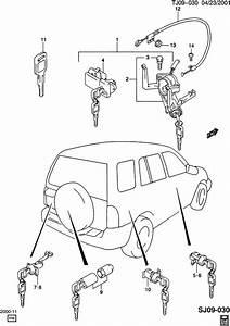 Chevrolet S10 Key  Ignition And Locks  Brass  Materialgm