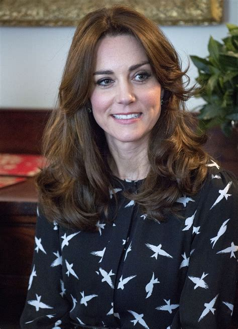 evolution  kate middletons bangs glamour