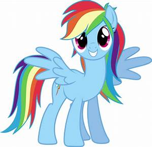 Archivo:Rainbow Dash With Rainbow Dash´s EG Hair.png | My ...