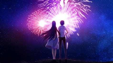 Anime Fireworks Wallpaper Hd by Wallpaper Anime Fireworks Grisaia No Kajitsu