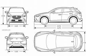 Dimension Mazda 3 : dimensions of the mazda cx3 autos post ~ Maxctalentgroup.com Avis de Voitures