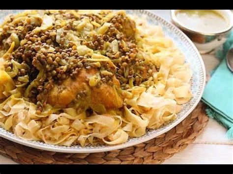 rfissa au poulet recette de la cuisine marocaine