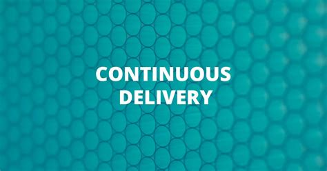 continuous delivery thoughtworks