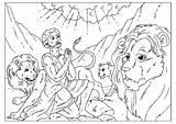 Coloring Daniel Den Lions Pages Popular sketch template