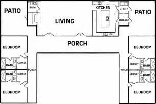 us homes floor plans u shaped home plans house plans home designs